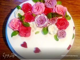 Муссовый торт «Вишневый Бриз»