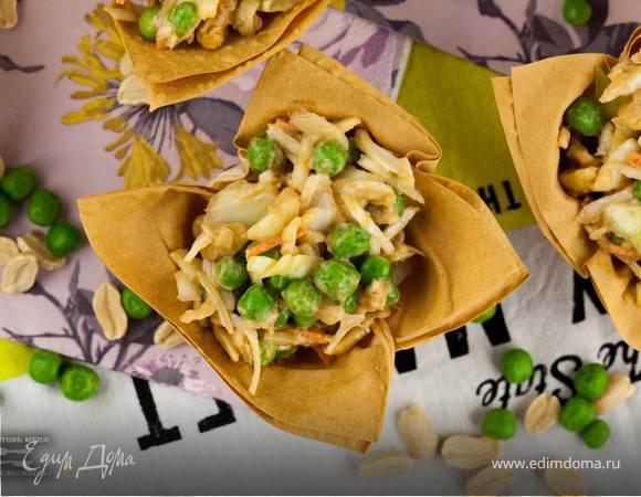 Салат «Коул Слоу» в азиатском стиле