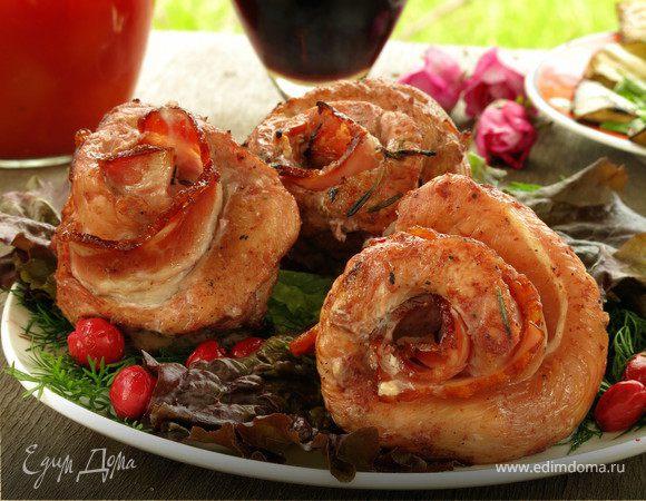 Шашлык в кизиловом маринаде «Розы»