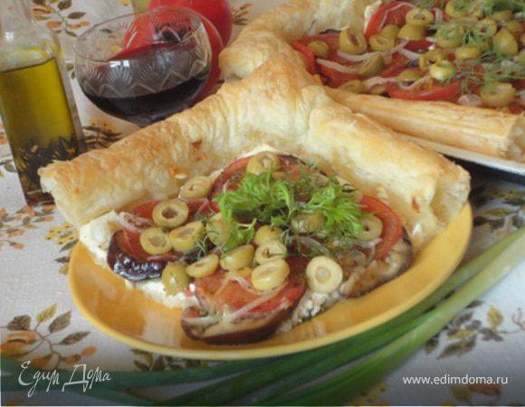 Быстрый овощной пирог