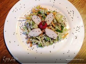 Азиатский салат с пекинской капустой