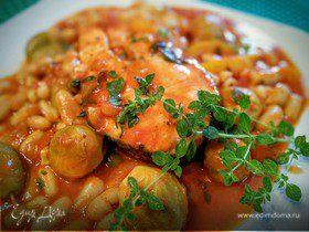Сельдь свежая, тушенная с овощами – кулинарный рецепт