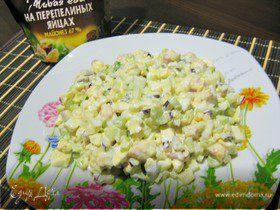Салат яичный «Праздничный»