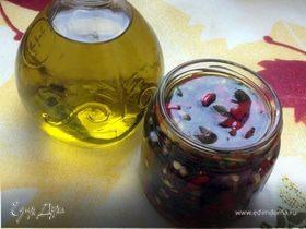 Острый перец в масле (peperoncini piccanti sott'olio)