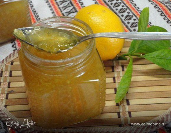 Имбирно-лимонное варенье