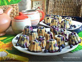 Нежные ягодные кексы