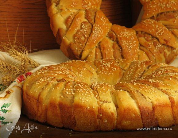 Хлеб-венок «Три теста»