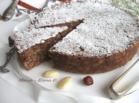 Ореховый торт с пастой cтеллине без выпечки