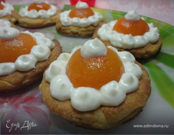 Птифуры с абрикосами
