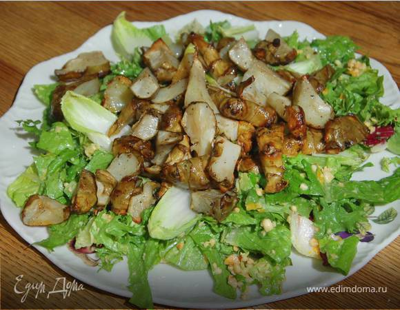 салат из топинамбура рецепт