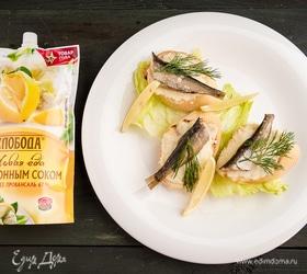 Бутерброды «Золотая рыбка»
