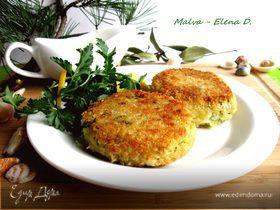 Рыбные котлеты с горчичным соусом от Мишеля Ломбарди