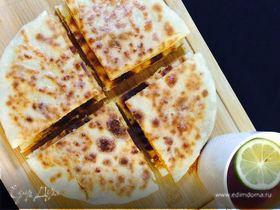 Лобиани (тесто без дрожжей)