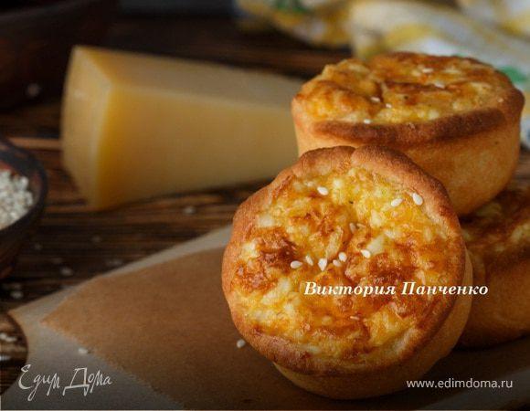 Сырные тарталетки с тунцом