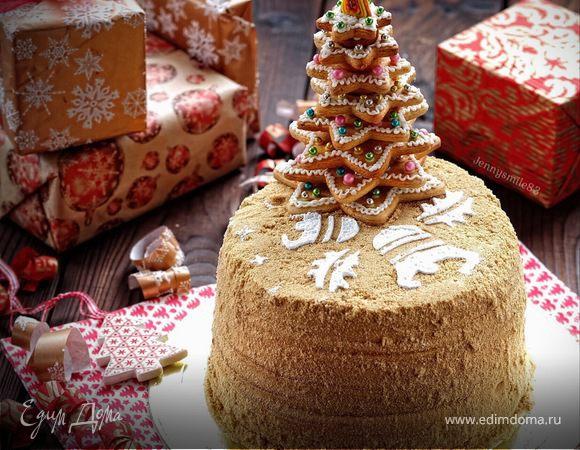 Медовик «Новогодний»