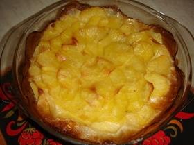 Картофель в молоке, запеченный в духовке