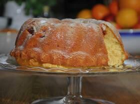 Апельсиновый кекс с розмарином