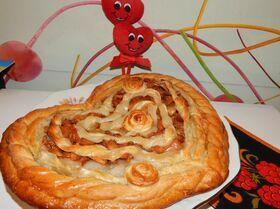 Яблочный пирог на сыворотке