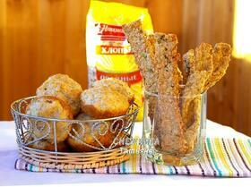 Овсяная выпечка с сыром: пышки и хрустящие палочки