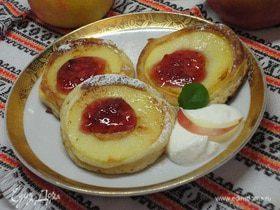Оладушки с яблочками