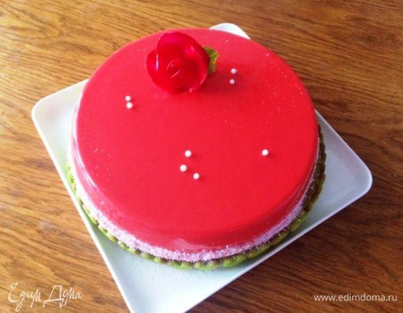 Муссовый торт «Для влюбленных»
