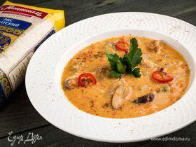 Острый суп с рисом