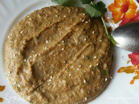 Суп-пюре из чечевицы с тыквой