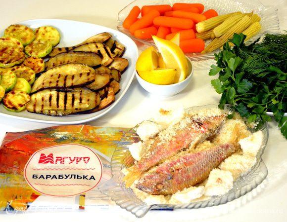 Рыба в соли по рецепту В. В.Похлебкина