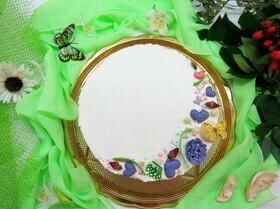 Пирог с персиками и сметанно-сливочным кремом