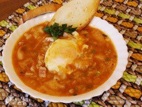 Кастильский чесночный суп