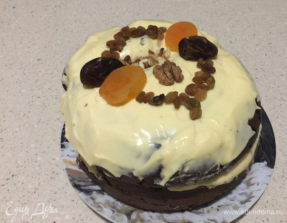 Кексовый торт «Кубок Феллини»