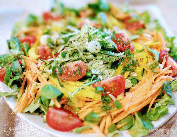 Сочный овощной салат