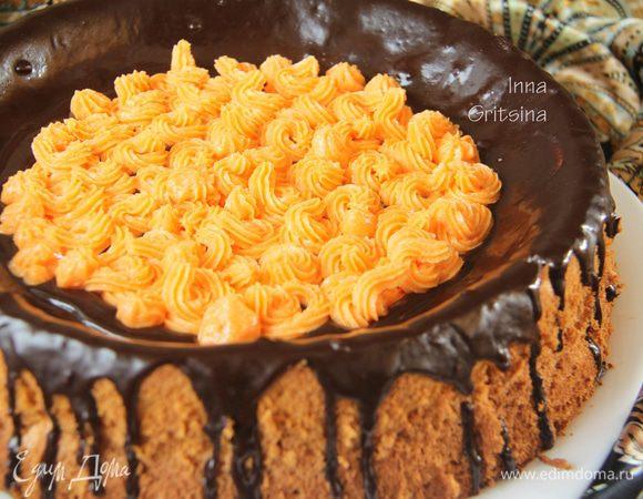 Торт «Тыквенный шифон»