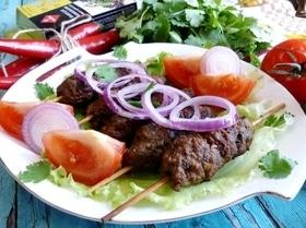 Люля-кебаб из говядины с паприкой