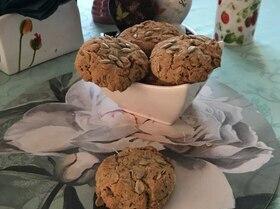 Овсяно-кокосовое печенье к завтраку