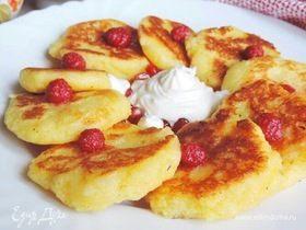 «Сырники» из манной каши на завтрак
