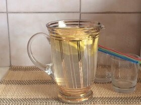 Холодный напиток с лимоном