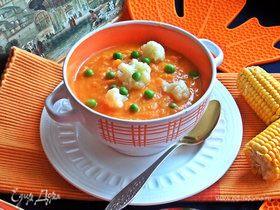 Тыквенный суп с бататом