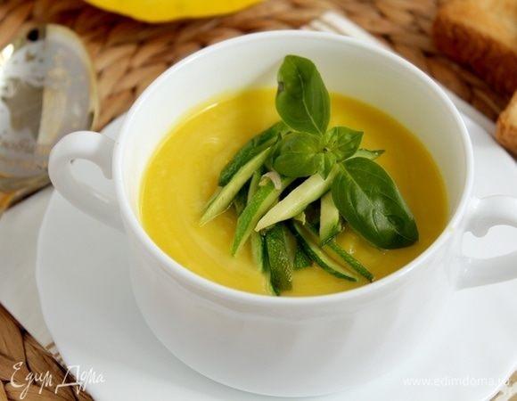 Тыквенный суп с цукини