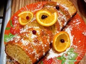 Кекс «Апельсиновая ваниль с ромом»