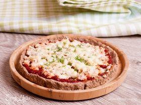 Пицца на основе хрустящих отрубей