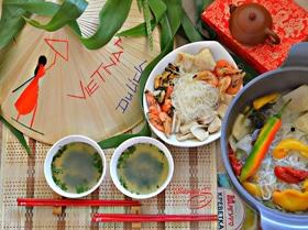 Вьетнамский суп Hot Pot