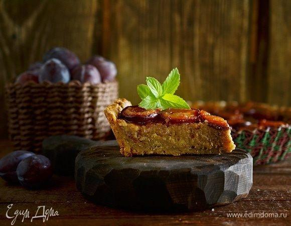 Сливовый тарт с франжипаном
