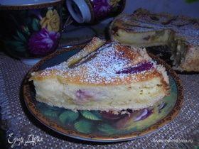 Изысканный пирог с ревенем