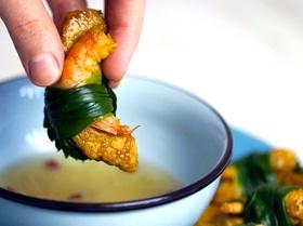 Закуска из креветок со свининой (Tam Hữu)