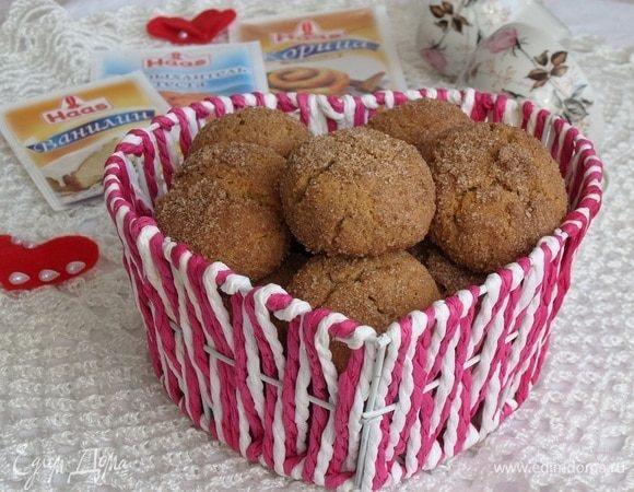 Домашнее печенье с корицей