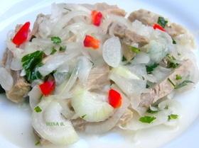 Деревенский салат