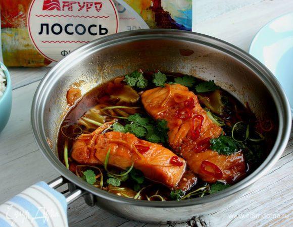 Вьетнамский карамелизированный лосось