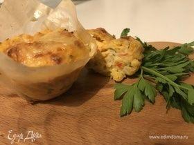 Картофельное пюре с крабовым мясом