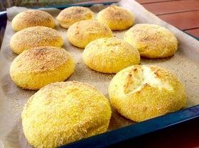 Сырники в духовке с кукурузной корочкой